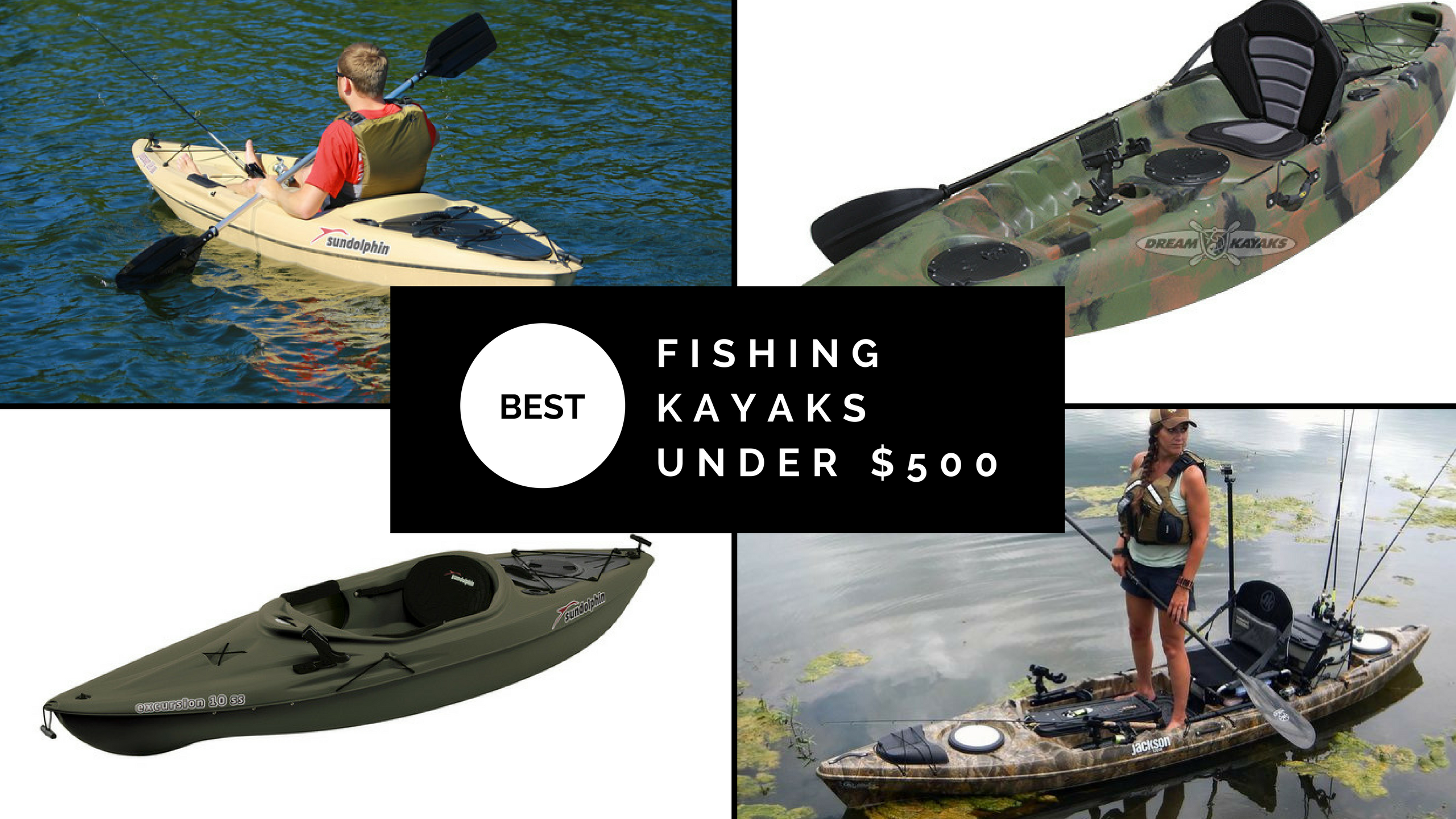 Best Fishing Kayaks Under 500 Modernkayaking Latest Trends And
