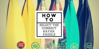 How to select the correct kayak paddle